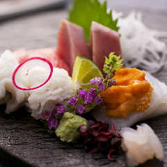 季節の鮮魚の造り盛り合わせ