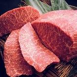 レア神戸牛カイノミステーキ