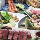 ボリューム満点の大皿料理と、充実のドリンク飲み放題でコスパ抜群の宴会をご堪能ください