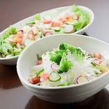 新鮮野菜のおまかせサラダ