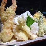 おまかせ天ぷら盛り合わせ