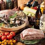 その時季堪能できる格別の食材を仕入れ提供いたします