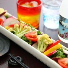 彩り三浦野菜の根菜サラダ