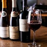 【ワイン】 肉料理に合うワインを世界各国から多彩に取り揃え!