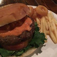 ハンバーガー(テイクアウトOK)