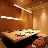 【完全個室】 ゆったりとしたお部屋は大切なシーンでのご利用に