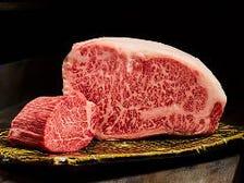 氷見牛のステーキ