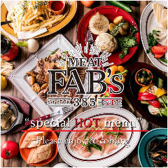 MEAT FABs win winステーキ