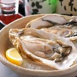 岩牡蠣 1,500円(税抜)