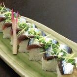 サンマ棒寿司