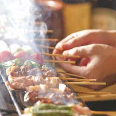 炭火熟成鶏・野菜豚バラ巻 うっとり 綱島店
