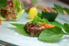 牛肉三昧のコースでどうぞ!!極上寿司