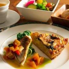 セレクトランチ(キッシュ&魚料理)