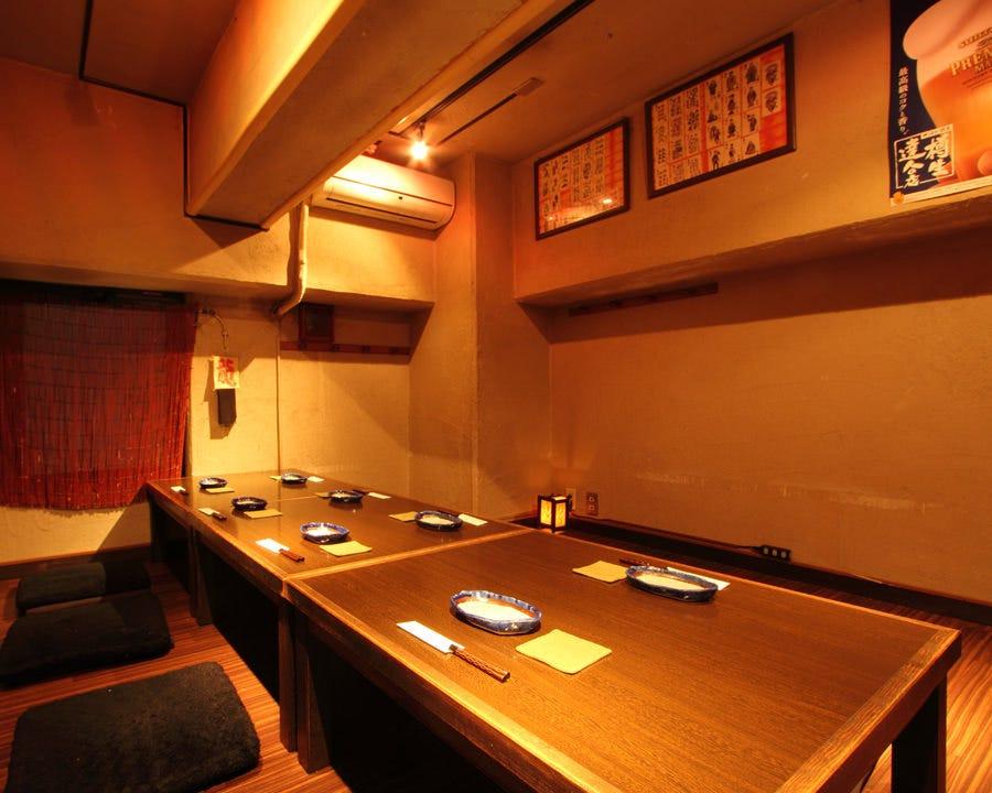 【2階座敷個室貸切プラン】8名様までの貸切満足プラン!ソーシャルディスタンスで人数×5000円