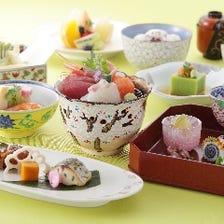 素材にこだわった本格的な京料理