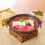 宮崎牛すき焼鍋