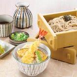 お好みランチはミニ丼やお寿司などから好きなメニューを1品選択