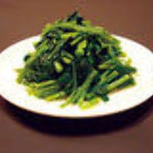 8-E.空心菜の炒め