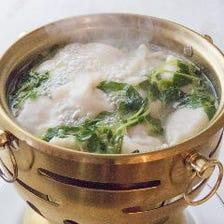 水餃子10個 干貝・芹葉・魚肉・白菜・蝦肉の5種餡