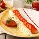 苺と2種類のクリームと苺アイス添え 890円(税抜)