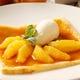 オレンジ風味のクレープシュゼットキャラメルソース730円(税抜)