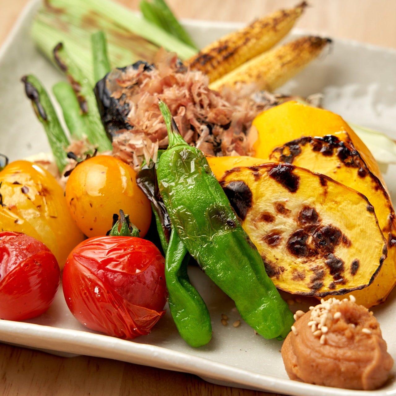 三浦野菜を使用した絶品メニュー