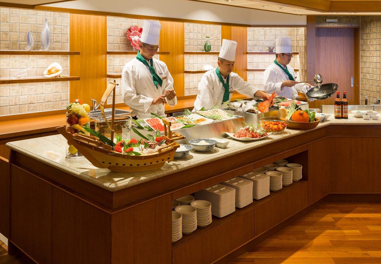焼津グランドホテル The Dining 炎の香