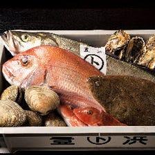 豊浜・片名漁港直送!新鮮魚介の数々