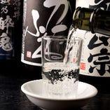 日本酒好きも!新潟の上越酒や本格焼酎も多数ご用意しています!