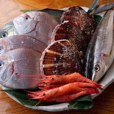[厳選素材]築地で厳選した鮮魚