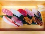 東北194号使用、お任せ寿司 菖蒲