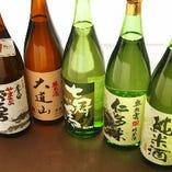 厳選した島根の日本酒を日替わりでご用意しております。