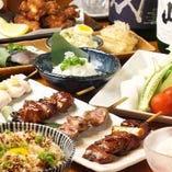 コース料理は、2H飲み放題付き4,000円~ 女子会は2,980円