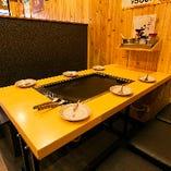 【ご予約必須】人気のテーブル席