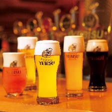 6種類のヱビスビール!!
