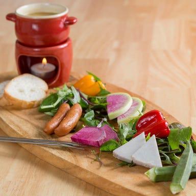 オーガニック野菜と肉とまり木432゛  こだわりの画像