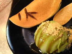 魚ちゃん焼き(バニラ or 抹茶アイス付)