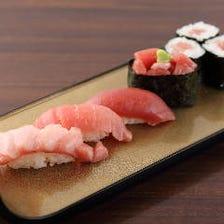 市場直送の鮮魚と厳選米で作る寿司