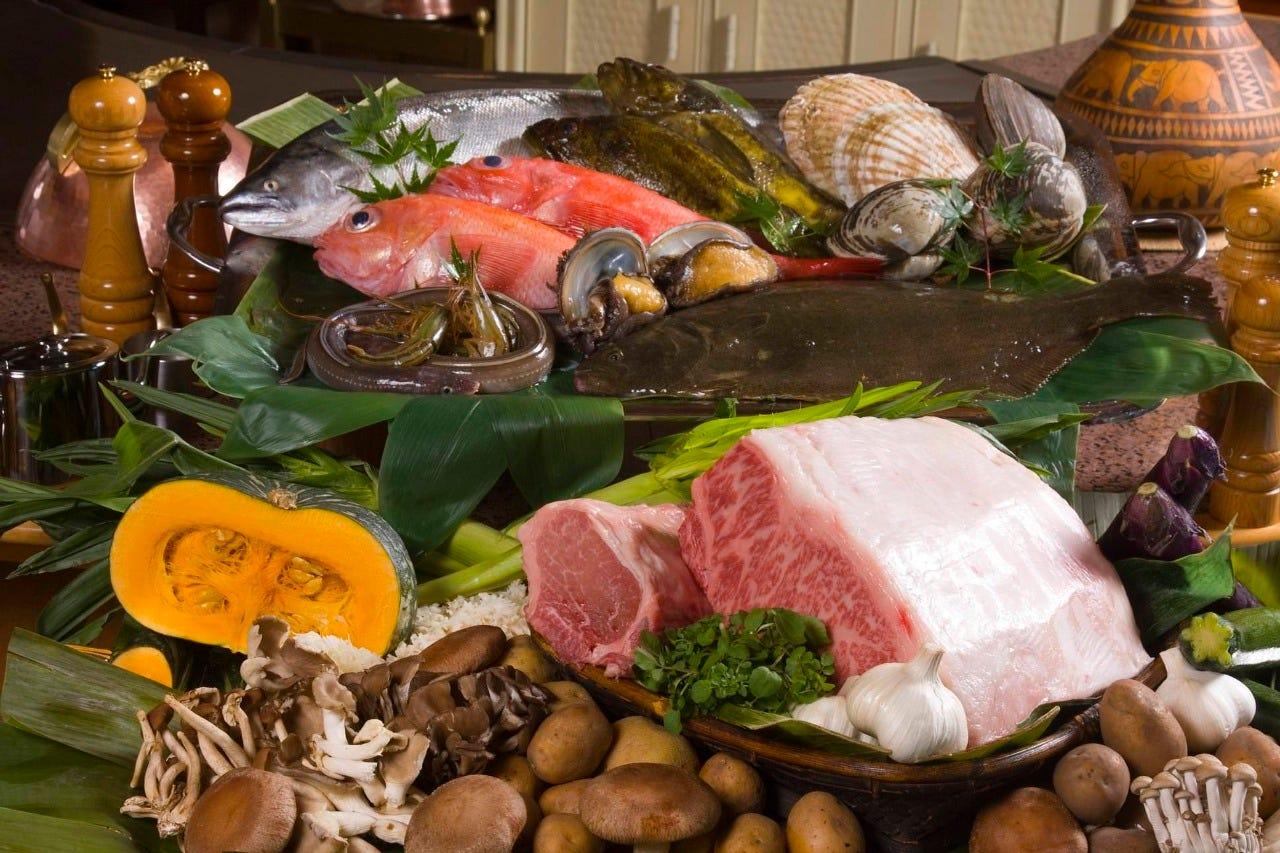 新鮮な北海道産食材をシンプルに
