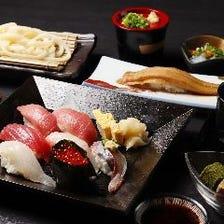 特上握り寿司&天ぷら御膳