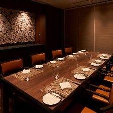 接待・会食に◎4~16名様完全個室