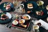 熱々グリルや旬素材の多国籍料理が30種以上!「ランチブッフェ」