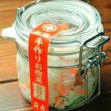瓶詰めポテトサラダ(イカの塩辛付)