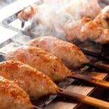 必食!新鮮肉を練って生で焼きあげる! 肉汁溢れ出る名物生つくね