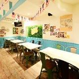 大小宴会に使えるテーブル席完全個室(~10名様×2部屋)