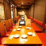 【2〜6名様テーブル個室×4部屋】まるで秘密基地♪地下の隠れ家でプライベート宴会