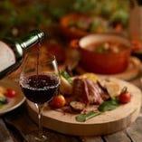 素敵なひとときをワインとともにお楽しみください