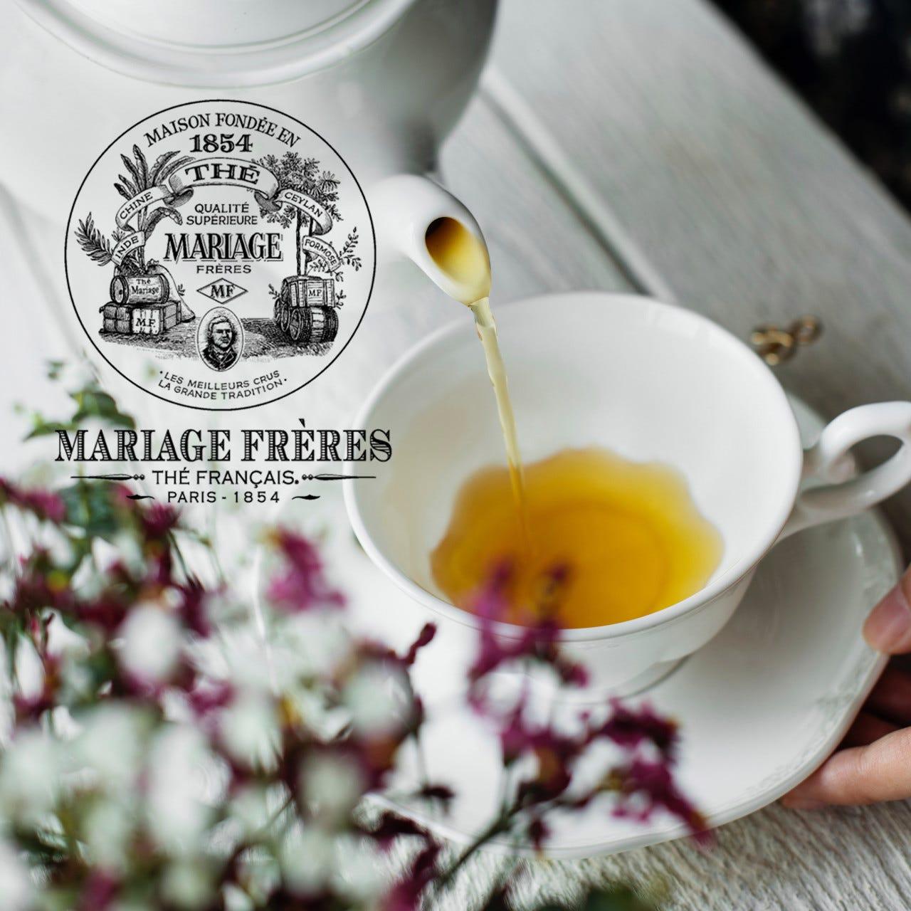 紅茶マリアージュフレールはポットでたっぷり楽しめます
