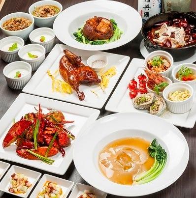 本格中国料理秋のサービスコース!!