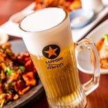 「生ビール」にこだわり!クリーミーな泡、クリアな飲み口、徹底した温度管理がパーフェクト黒ラベルの証しです